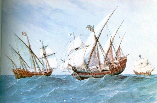 Francisco Pizarros Ship Pizarro s Spanish Caravels