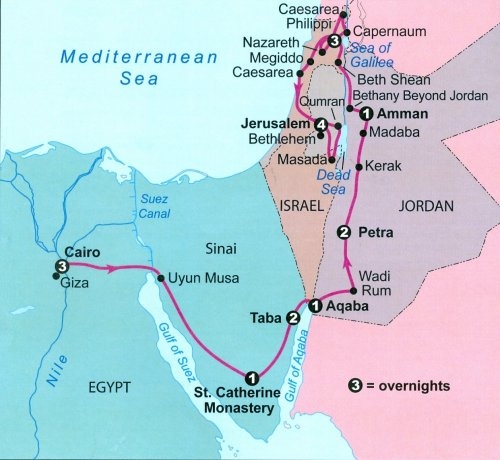 Ejipjpg - Map of egypt israel jordan