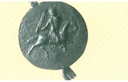 Richard 39s Wax Seal Showing Him on Horseback