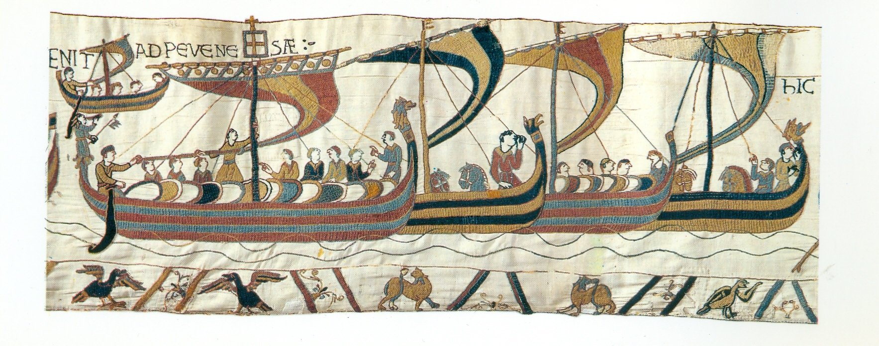 bayeux tapestry experience letter Hum 111 bayeux tapestry experience dearest mother i am writing you from the front william, duke of normandy, will challenge harold of wessex for the.